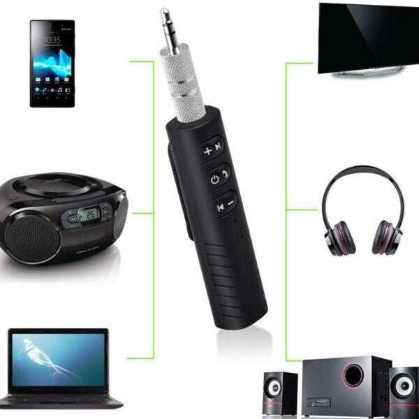 Univerzális jack Bluetooth adapter zenelejátszáshoz és kihangosításhoz